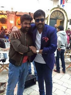 "#Chiru#sekhar master#""Khaidi No 150"" Movie Working Stills"