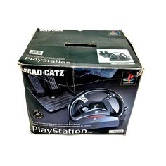 PlayStation Mad Catz Steering Wheel With Gears & Pedals Superb Condition gaming