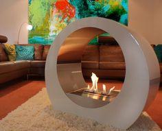 BeoFires 'Oracle' Premium Bioethanol Flueless Fireplace   May  2013