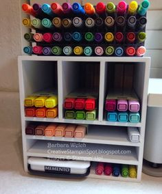Creative Stampin' Spot - Marker Storage Station for the NEW Stampin' Up! Blendabilities Markers and Many Marvelous Markers