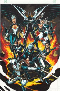 Uncanny X-Force by Tirso Llaneta *