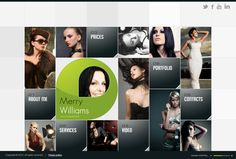 Merry Williams Photographer HTML5 Template by Dynamic Template