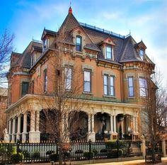 Frederick J. Stegmaier  mansion, Wilkes-Barre, Pennsylvania, circa 1870 #mansion #historic #pennsylvania #wilkesbarre #bennettinfiniti