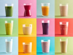 How to Make a Healthy Smoothie : Food Network Ditch sugary, calorie-laden fast-food smoothies and make your own healthy concoctions at home with these easy tips. Apple Smoothies, Breakfast Smoothies, Healthy Smoothies, Healthy Drinks, Healthy Cooking, Healthy Recipes, Healthy Meals, Healthy Eating, Healthy Food