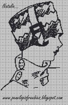 Penelopis' cross stitch freebies: Natalie... Cross Stitch Boards, Cross Stitch Needles, Needlepoint Patterns, Embroidery Patterns, Cross Stitch Designs, Cross Stitch Patterns, Cross Stitching, Cross Stitch Embroidery, Blackwork