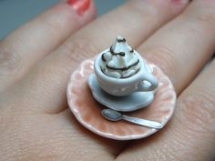 Coffee Cup Ring $13