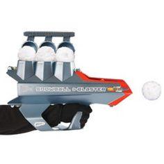 snowball launcher!