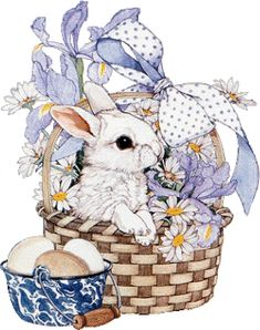 the softer side of life Easter Art, Easter Crafts, Easter Bunny, Animal Drawings, Cute Drawings, Lapin Art, Images Vintage, Happy Easter Day, Easter Pictures