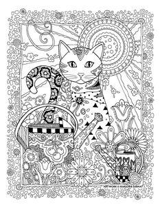 172 Best Marjorie Sarnat Coloring Pages Images On Pinterest