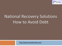 National Recovery Solutions LLC: Professional Affiliations
