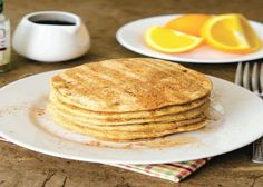 Happy Herbivore Pumpkin Pancakes