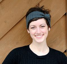 Knotted Crochet Headband Tutorial