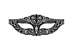 lace mask template
