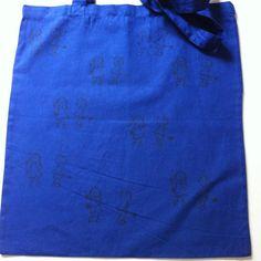 bolsa para todo con niños - Azul