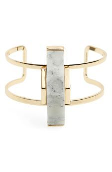 Sole Society 'Abstract Stone' Open Cuff | No