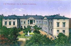 Dawniej szpital św. Jadwigi - Cieplice.