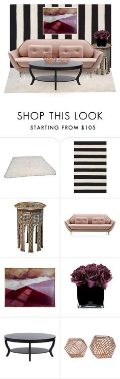 """""""Marrakesh Metro"""" by dundiddit ❤ liked on Polyvore featuring interior, interiors, interior design, home, home decor, interior decorating, nuLOOM and Hervé Gambs"""