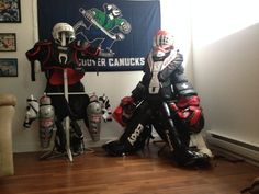 My gear from 2013 #hockey #beerleague