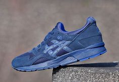 all blue asics