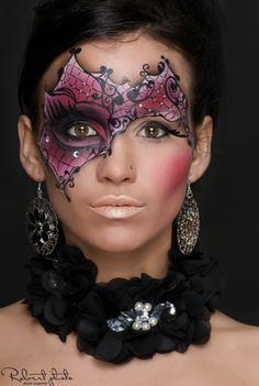 70 Best Masquerade Mask Makeup Images
