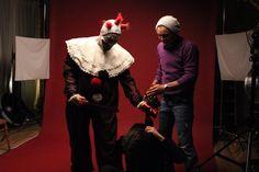 Fotografía realizada en el Shooting de American Horror Story realizado por Mara Hernández Fotógrafo en Madrid 14/12/2014