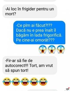 Autocorectul - Viral Pe Internet Funny Texts, Funny Jokes, Be Like Meme, Cringe, Haha, Writer, Like4like, Funny Pictures, The Originals