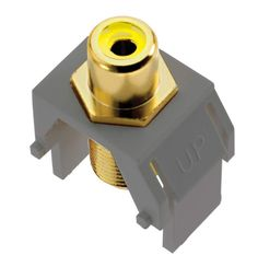 Legrand ACYRCAFM1 Composite Video RCA to F-Connector Magnesium Electrical Equipment Electrical Hardware and Supplies