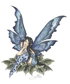 I think this from Amy Brown who is my favorite fairy artist
