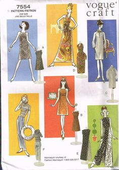 Your place to buy and sell all things handmade Barbie Sewing Patterns, Doll Patterns, Sewing Ideas, Crochet Blanket Patterns, Crochet Stitches, Barbie Clothes, Barbie Dolls, Casual Evening Dresses, Barbie Fashion Royalty