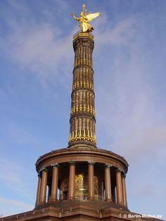 Siegessäule - Meisterwerk der Baukunst - Ihr Immobilienmakler und Berlin Liebhaber - follow us www.imcentra.de