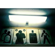 #shooting #range #gunsHall #neon #prague #location #scout #movie #target