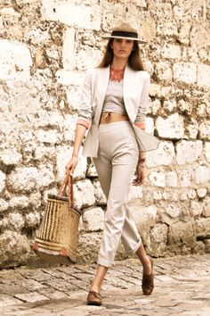 Pants CHOBBISH - Jacket SHATERO - Scarf EKUSH Diamond - 100% Hand woven cotton from Bangladesh www.originesnomades.com