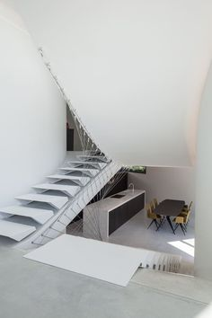 Villa MQ - Picture gallery #architecture #interiordesign #staircase