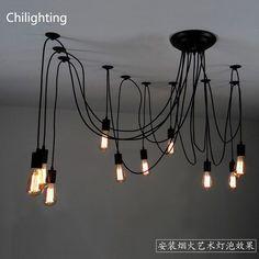 חמה למכירה אדיסון הנורה תאורה תעשייתית גופי אורות בסגנון כפרי אמריקאי אור תליון בעל מנורת e27(China (Mainland))