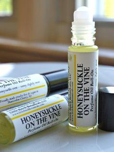 Perfume Oil - Honeysuckle On The Vine - Vegan