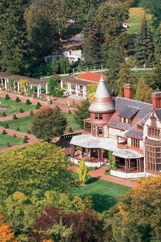 Tour the Sonnenberg Gardens and Mansion State Historic Park in Canandaigua, New York