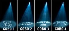 gobo lighting on stage