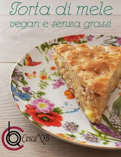 TORTA DI MELE (VEGAN)