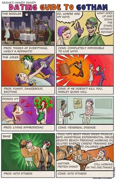 A Dating Guide to Gotham, I'd go with bane