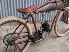 hillbilly's latest board track bike - Page 2