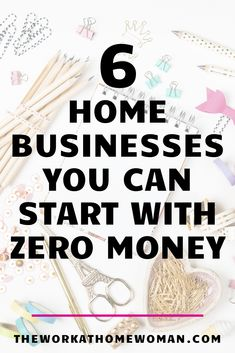 Do you want to start a business, but you don't have any funds? No problem! There are actually quite a few options for individuals who want to run their own home business without any startup fees. Check out these 6 ideas to start making money from home. Start A Business From Home, Small Business Plan, New Business Ideas, Work From Home Tips, Starting Your Own Business, Craft Business, Business Tips, Business Ideas For Beginners, Start Online Business