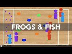 Frogs & Fish - Physical Education Game (Fundamental Movement Skills) - YouTube