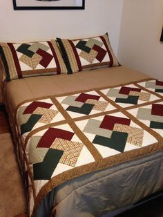 Patchwork colchas casal 59 Ideas for 2019 Colchas Quilting, Quilting Projects, Quilting Designs, Diy Quilt, Quilt Bedding, Bedding Sets, Quilt Block Patterns, Quilt Blocks, Sewing Patterns