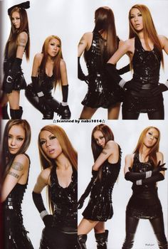Namie Amuro and DOUBLE.
