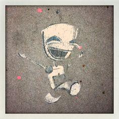 Sidewalk art!!