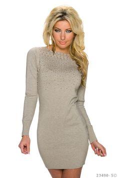 Charismatic Brown Dress