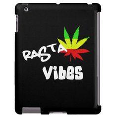 Rasta Vibes #Reggae iPad Case.