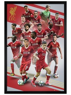 Liverpool Players - Maxi Poster x new and sealed Liverpool Fc, Liverpool Players, Liverpool History, Wall Art Prints, Poster Prints, Seasons Posters, Swimsuits 2014, Club Poster, English Premier League