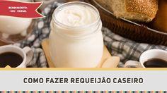 Requeijão Caseiro (Como fazer) - Receitas de Minuto EXPRESS #250
