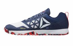 Reebok CrossFit Nano 6.0 - Blue Ink / White / Riot Red | Rogue Fitness